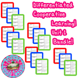 McGraw-Hill Wonders Differentiated Vocabulary Cards Unit 1 Bundle