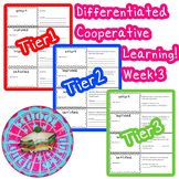 McGraw-Hill Wonders Differentiated Vocabulary Cards Unit 1 Week 3