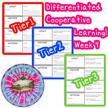 McGraw-Hill Wonders Differentiated Vocabulary Cards Unit 1 Week 4