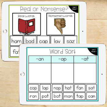 1st Grade McGraw-Hill Wonders Digital Activities for Google Classroom Unit 1
