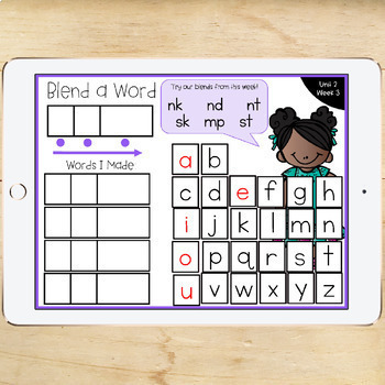 1st Grade McGraw-Hill Wonders Digital Activities for Google Classroom Unit 2