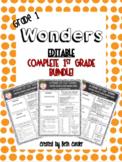 EDITABLE 1st Grade Weekly Newsletter BUNDLE to Correlate w