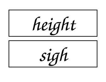McGraw Hill Wonders Enlarged Spelling Words Unit 1 Week 4