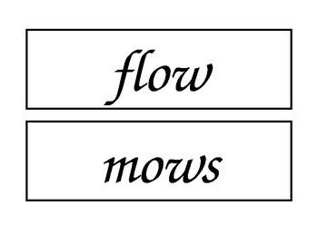 McGraw Hill Wonders Enlarged Spelling Words Unit 1 Week 5