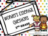 Wonders Essential Questions 2nd Grade
