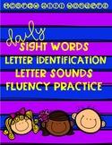 McGraw Hill Wonders FREEBIE - Sight Words, Letter Identification, Letter Sounds