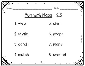 McGraw Hill Wonders First Grade Fun with Maps 2.5 {10 Literacy Activities}