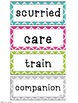 Common Core 1st Grade Oral Vocabulary Word Cards to Correlate with Wonders