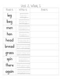 McGraw Hill Wonders First Grade Read it, Write it, Build it --Unit 2--
