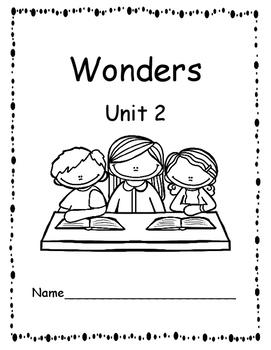 McGraw-Hill Wonders First Grade Unit 2 Reading Response/Journal