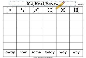 McGraw-Hill Wonders First Grade Unit Three Roll, Read, Record