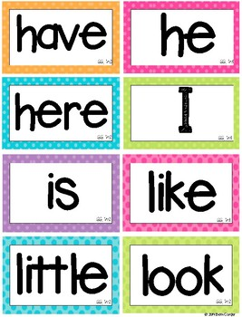 First Grade Word Wall Sight Words to Correlate with 1st Grade Wonders