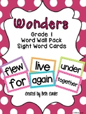First Grade Word Wall Sight Words to Correlate with 1st Gr