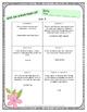 McGraw Hill Wonders: 4th Grade Units 1-6 Printable Cube It, Flip It  Activity