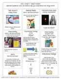 McGraw Hill Wonders Fourth Grade Mini Focus Walls Unit 1 W