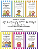 McGraw Hill Wonders  Frequency Word Searches, First Grade