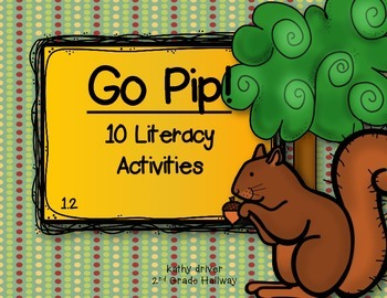 McGraw-Hill Wonders Go Pip! 1.2.{10 Literacy Activities}