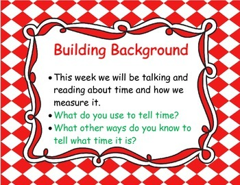 McGraw Hill Wonders Grade 1 Unit 3 Weeks 1-5 focus wall for display