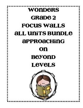 McGraw-Hill Wonders Grade 2 All Units Focus Walls