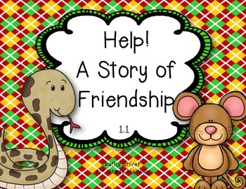 McGraw Hill Wonders Grade 2 Help! A Story of Friendship {8 Literacy Activities}