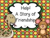 McGraw Hill Wonders Grade 2 Help! A Story of Friendship {8
