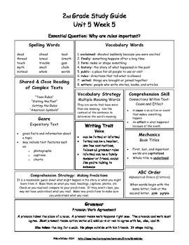 McGraw-Hill Wonders 2nd Grade U5 W5