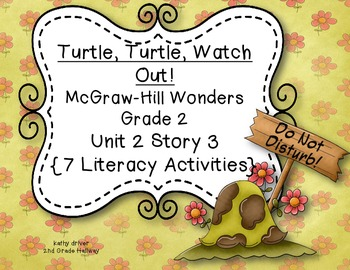 McGraw-Hill Wonders Grade 2 Turtle,Turtle Watch Out!