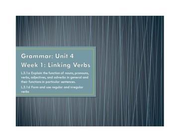 McGraw Hill Wonders Grade 3 Grammar Unit 4