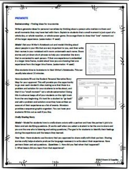 McGraw Hill Wonders Grade 3 Personal Narrative Writing Bundle