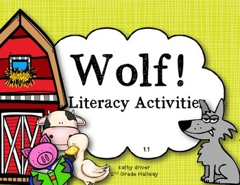 McGraw Hill Wonders Grade 3 Unit 1 Story 1 Wolf! Freebie