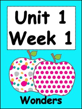 Grade 3 Unit 1/Week 1