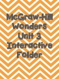 McGraw-Hill Wonders Grade 3 Unit 3 Interactive Reading Notebook