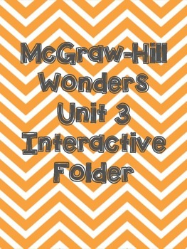 McGraw-Hill Wonders Grade 3 Unit 3 Interactive Reading Notebook