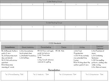 McGraw Hill Wonders Grade 3 Unit 6 Lesson Plans Weeks 1-5- Editable