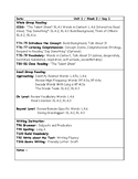McGraw-Hill Wonders Grade 4 Unit 1 Week 2 Lesson Plans
