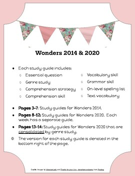 McGraw-Hill Wonders Grade 4 Unit 3 Study Guides