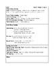 McGraw-Hill Wonders Grade 4 Unit 5 Week 1 Lesson Plans