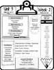 McGraw Hill Wonders Grade 5 Focus Wall At-A-Glance Unit 3