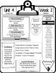 McGraw Hill Wonders Grade 5 Focus Wall At-A-Glance Unit 4