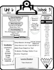 McGraw Hill Wonders Grade 5 Focus Wall At-A-Glance Unit 6