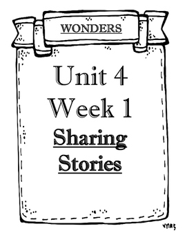 Wonders Grade 5 Objectives Unit 4 Weeks 1 to 5