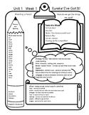 McGraw Hill Wonders Grade 5 Unit 1 Week 1 overview