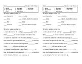 McGraw Hill Wonders Grade 5 Unit 1 Week 3 Vocabulary Pretest