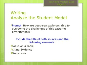 McGraw Hill Wonders Grade 6 Unit 1 Week 3 PowerPoint presentation Bundle