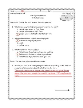 McGraw Hill: Wonders Grade Three Leveled Readers: Unit 5 Week 3