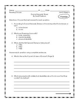 McGraw Hill: Wonders Grade Three Leveled Readers: Unit 5 Week 4