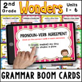 2nd Grade Wonders 2020   Grammar Practice BOOM CARDS   Uni