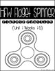 McGraw Hill Wonders High Frequency Words Fidget Spinner Fluency