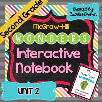 2nd Grade Wonders INTERACTIVE NOTEBOOKS {Unit 2}