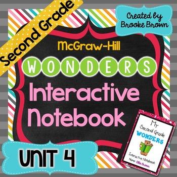 2nd Grade Wonders INTERACTIVE NOTEBOOKS {UNIT 4}